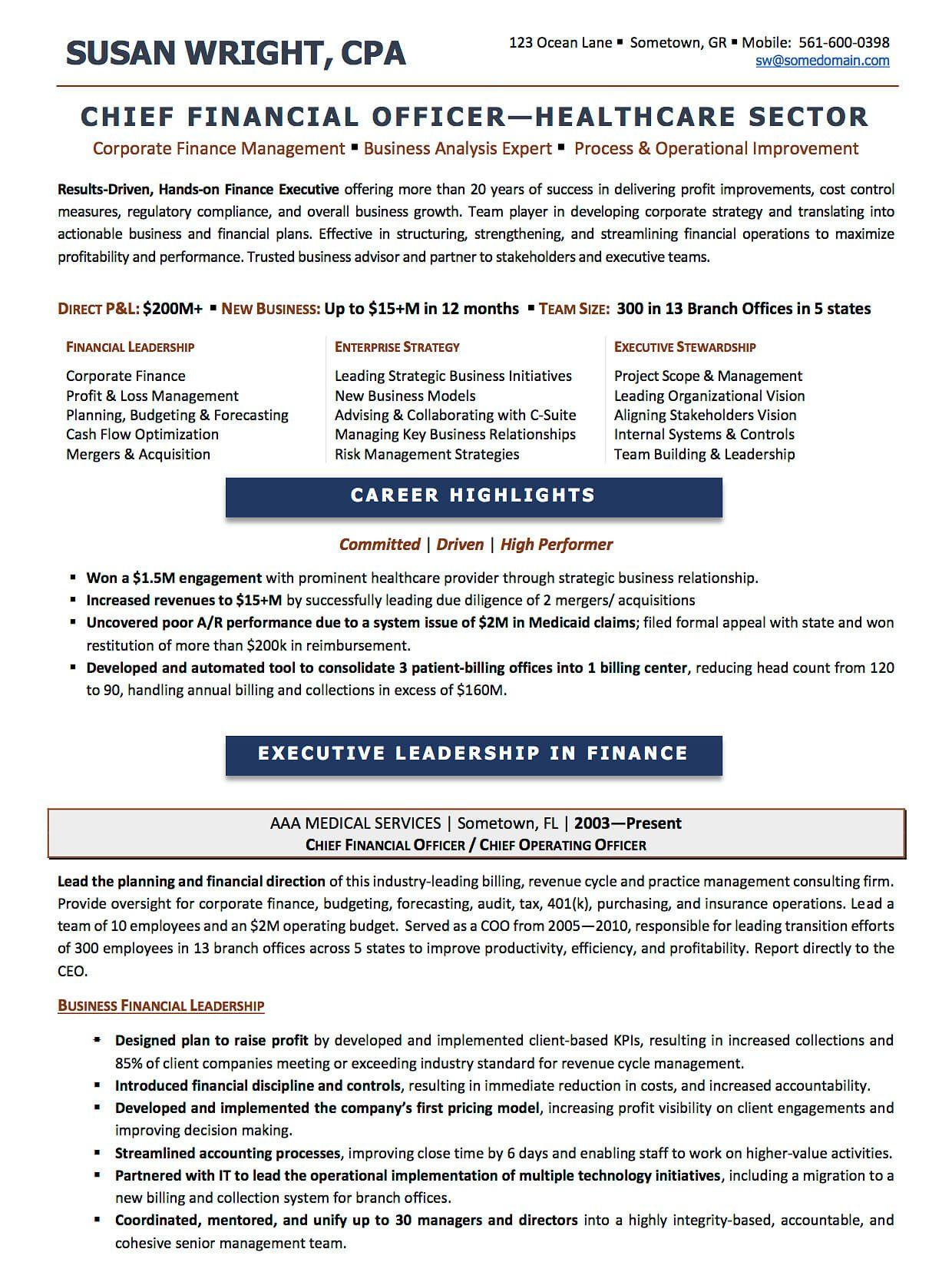 resume examples  cv sample  resume templates  rso resumes also  cfo sample