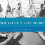 Your career is no different than any small business.